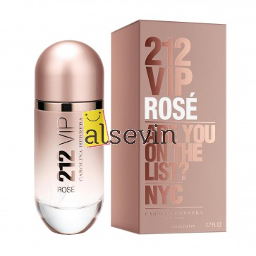 Carolina Herrera 212 VIP Rose L 80 edp