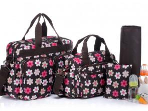 Комплект сумок для мам и малышей BS005 Flowers